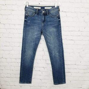 Anthro Pilcro Slim Boyfriend Distressed Jeans